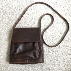 Nine West Faux Leather Crossbody EUC